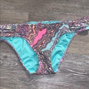 Victoria's Secret paisley bikini bottom
